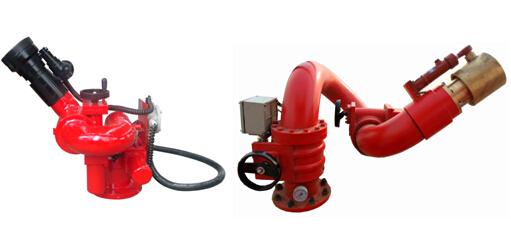 适用范围 电控消防炮具有流量大,射程远的特点,可实现远距离有线,无线控制和就地手动控制。电机和接线盒均可采用防爆型。消防炮可适合安装在有易燃、易爆等危险的石油化工、油罐区、油轮,输油码头、机库、船舶等场所,集中控制柜可放置在控制室内作远距离操作,确保安全有效的扑救火灾。该炮具有射程远,操作简单灵活,实施水平和仰俯回转,并可实现定位,有利于消防人员安全撤离火场。该炮是具有世界先进水平的消防产品。用于扑灭固体物质火灾是目前较为理想的灭火设备。 系统组成 电控消防炮灭火系统由电控消防炮、前端控制箱、电动阀、